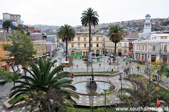 Plaza Echaurren Valparaiso, Chile