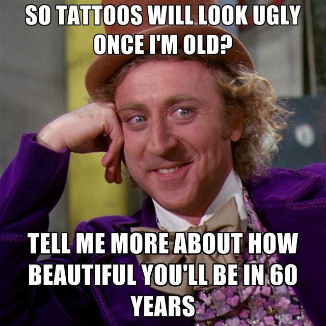 Tattoo Humor Quotes: Best 25+ Old Tattooed People Ideas On Pinterest