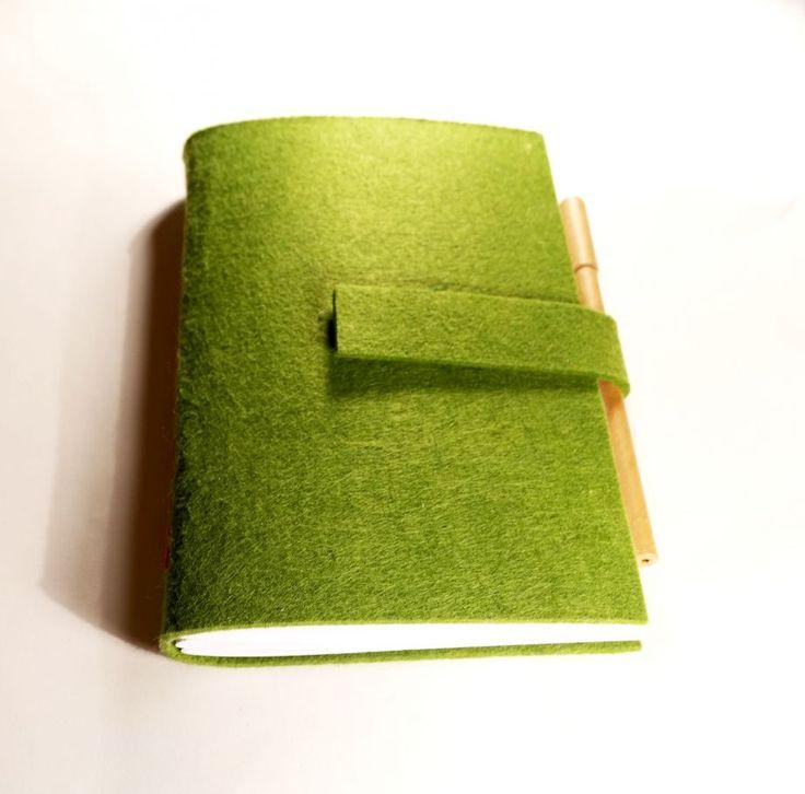 Yeşil keçe defter Zet.com'da 45 TL