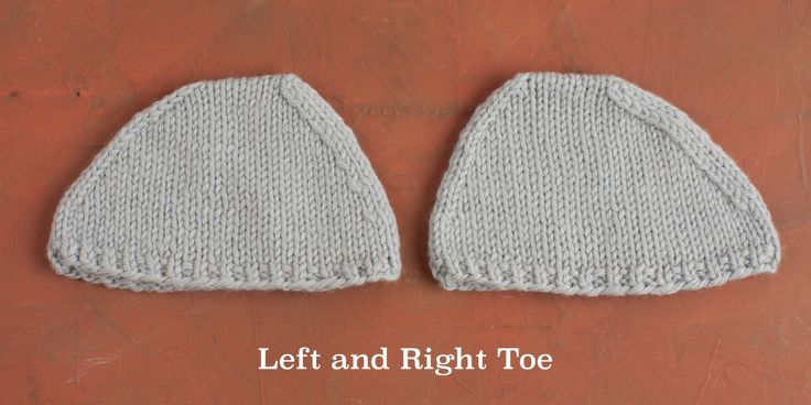 Each method for working sock toe decreases creates a slightly different look and shape. Let's talk about these five variables.