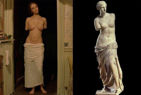 Eva Green come la Venere di Milo