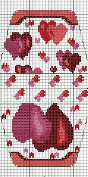 Схемы для сумочки игольницы для вышивки мулине и бисером.. Обсуждение на LiveInternet - Российский Сервис Онлайн-Дневников