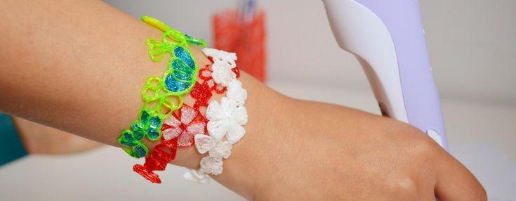 Création bijoux d'été avec un stylo 3D par Maypop Studio Retrouvez le ici : http://www.boutiquemarieclaire.com/kit-stylo-3d-3-filaments.html