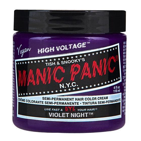 Violet Night - Classic - Hiusväri - Manic Panic - Tuotenumero: 263469 - alkaen 13,99 € - EMP.fi - naisten ja miesten vaatteet sekä bändipaid...