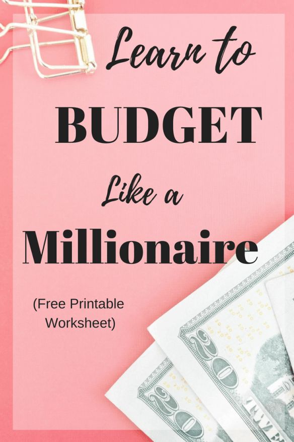 Learn how to build a solid budget. Grab your free printable budget worksheet.