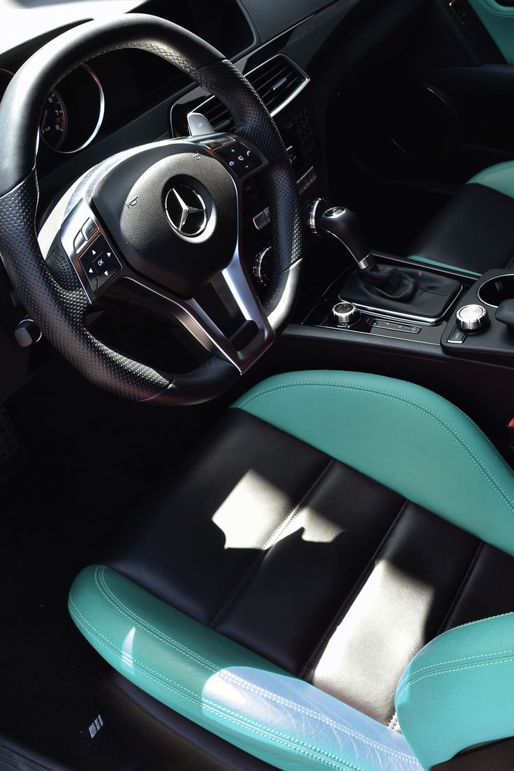 Mercedes Tiffany Blue Trim