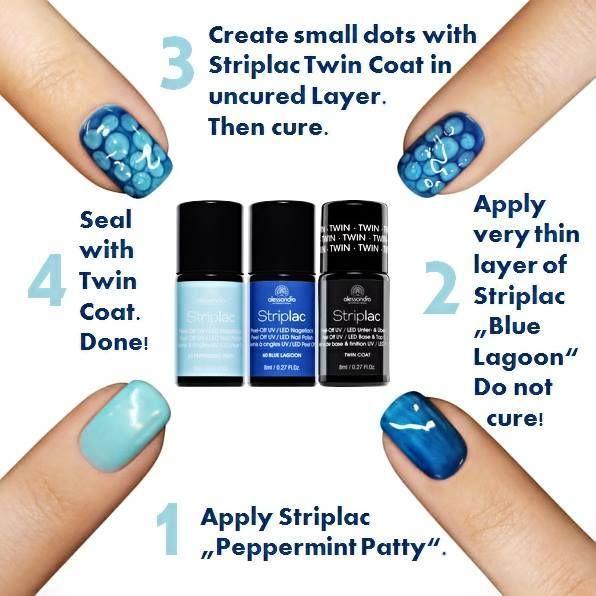 Be creative with #alessandrointernational #alessandro #nails #nailart #steps