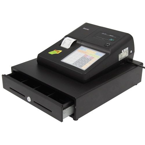 SAM4S ER265EJ CASH REGISTER - LARGE DRAWER - Sam4s Cash Registers: Basic to Touch Screen Plus Spare Parts - Sam4s Cash Registers & Peripherals - Cash Register Warehouse