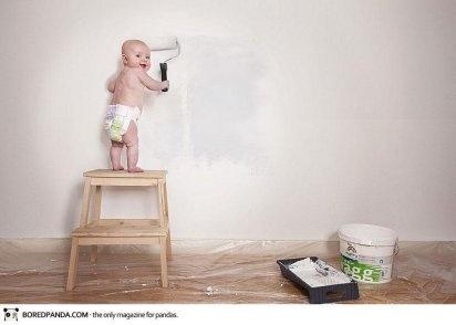 Alocadas fotografías para el álbum de fotos de un bebé | Saber de fotografía es facilisimo.com
