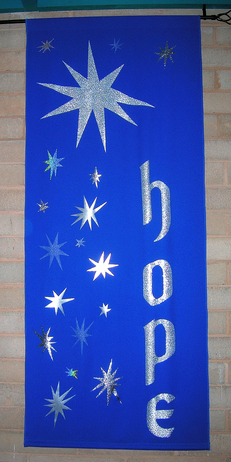 First Sunday of Advent chapel banner