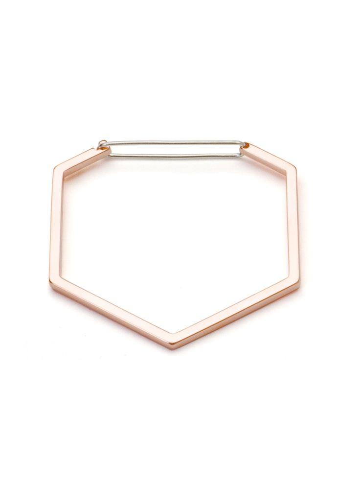 The Boyscouts Seize Hexagon bracelet - Metallic RkD0Y