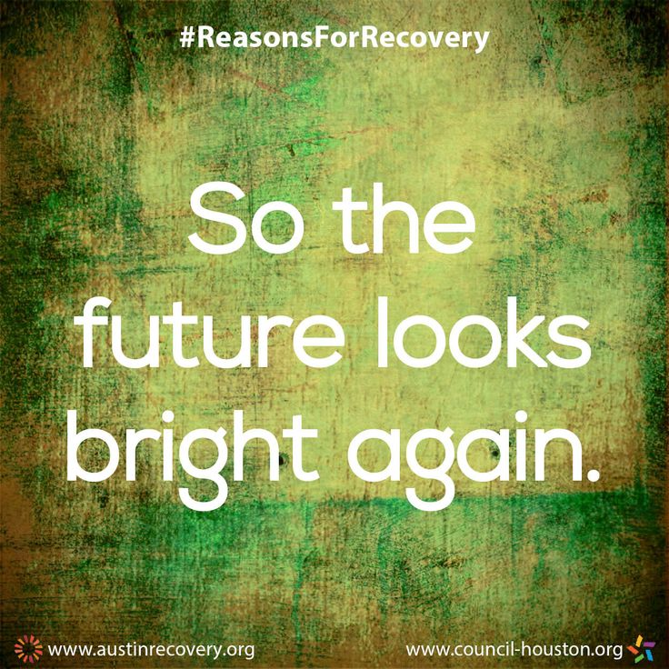 """September is National Recovery Month which aims to spread the positive message that behavioral health is essential to overall health, that prevention works, treatment is effective and people CAN and DO recover. To do our part, all month long we plan to showcase the many different reasons individuals choose and remain in recovery. One of those reasons is: """"So the future looks bright again."""" #RecoveryMonth #ReasonsForRecovery"""