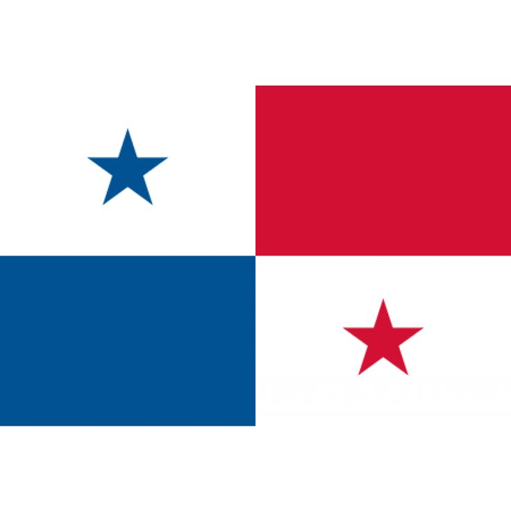 Tafelvlaggen Panama 10x15cm   Panamese tafelvlag De vlag van Panama is sinds de oprichting van de staat op 3 november 1903 de officiële landsvlag. De vlag bestaat uit vier even grote vlakken: twee witte (linksboven en rechtsonder), een rode (rechtsboven) en een blauwe (linksonder). In het linkerbovenvlak staat een blauwe ster, in het rechterondervlak een rode.