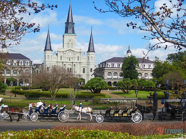Jackson Square, New Orleans - Visit USA tips: http://www.ytravelblog.com/visit-usa/