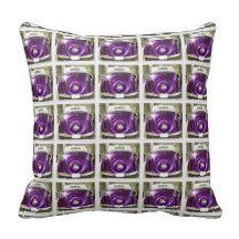 Purple Hot ROD Pillow