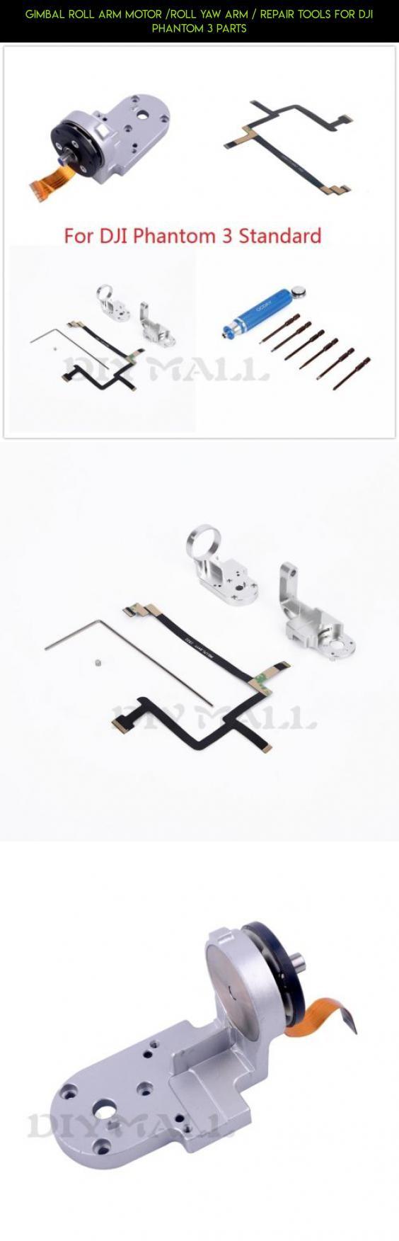 Gimbal Roll Arm Motor /Roll Yaw Arm / Repair Tools For DJI Phantom 3 Parts #tech #parts #kit #standard #tools #3 #fpv #camera #racing #technology #products #gadgets #dji #phantom #drone #plans #shopping