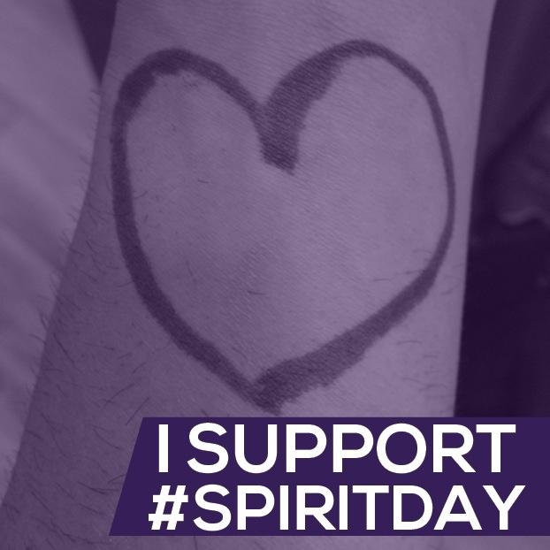 @glaad #purple #spiritday #stopbullying