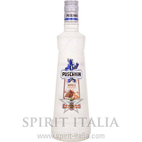 puschkin vodka nuts and nougat