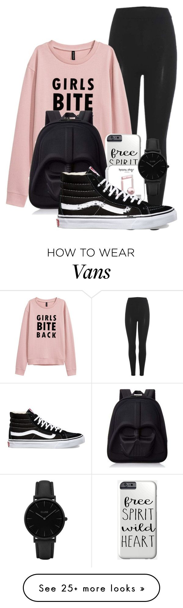 """""""Untitled #123"""" by symphony-aguiar on Polyvore featuring adidas Originals, Loungefly, Vans and CLUSE"""