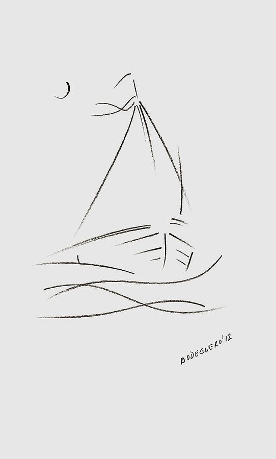 Simple Sailboat Drawing | Friendship, Social studies and ...
