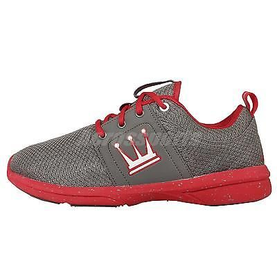 Dada Supreme A-Train Grey Red Mens Parkour Running Shoes TMRT379S-GGR