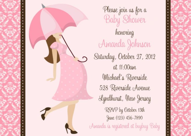 Invitations For Baby Shower For Girl fearsome baby shower invitation card for extra ideas 8389