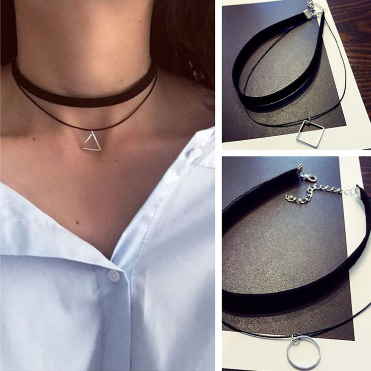 Necklace  Gothic Lolita Punk Triangle Choker Necklace Black Velvet Steampunk Tattoo Necklaces Torques Jewellery Clavicle Colar Bijoux HOT <3 This is an AliExpress affiliate pin.  Click the VISIT button to enter the AliExpress website