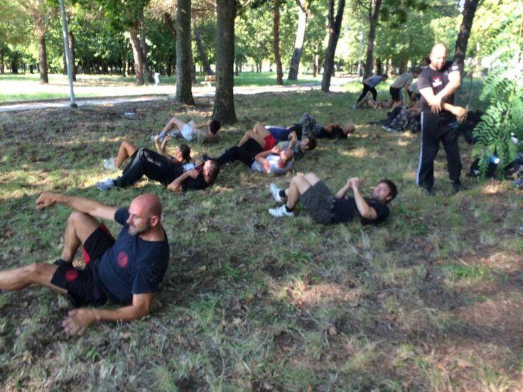 #allenamento al parco. #KravMaga #IKMF #Training