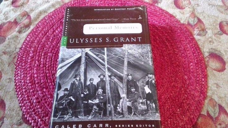 1999 Personal Memoirs of Ulysses S. Grant – Civil War History Biography Book