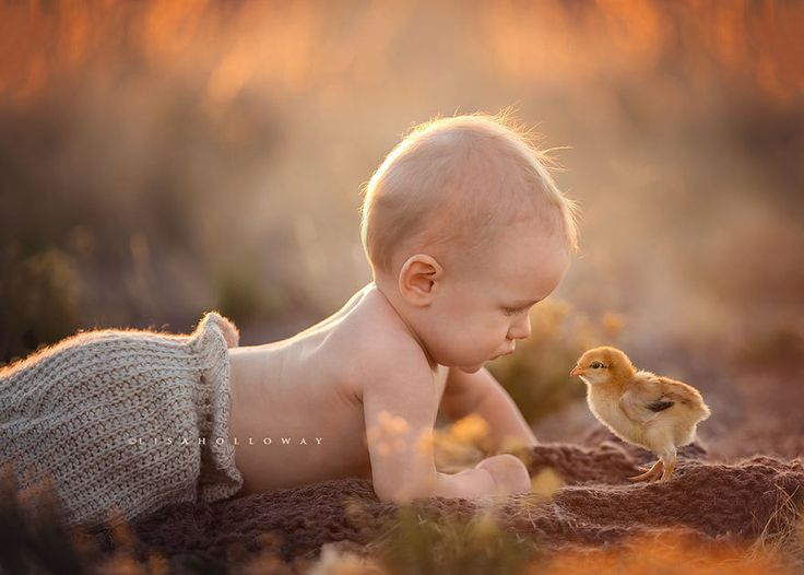 Best Kids Their Animal Friends Images On Pinterest Baby - Cute portraits baby and rescue dog