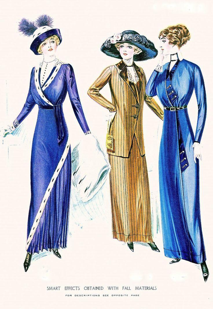 Fashion Plate - McCall's Magazine, November 1912