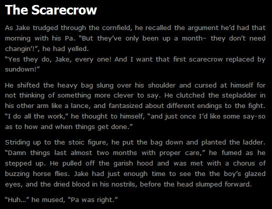 Scary Stories Make Kids Violent