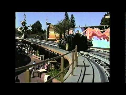 ▶ Rocket Rods at Disneyland opening day. - YouTube - I waited two and a half hours in line to ride this on opening day!! It was a fun ride when it worked.
