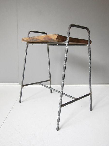 recycle wood stool 1 | Tetsu Moku