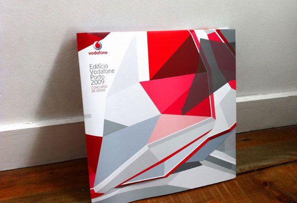 Vodafone porto brochure. graphic design by Teresa Nunes