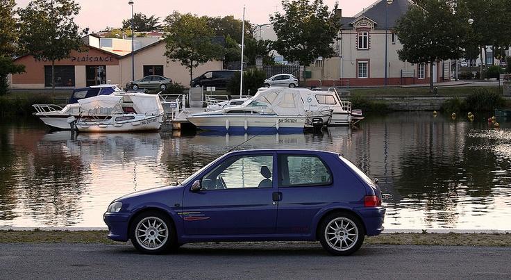 #Peugeot 106 #Blue