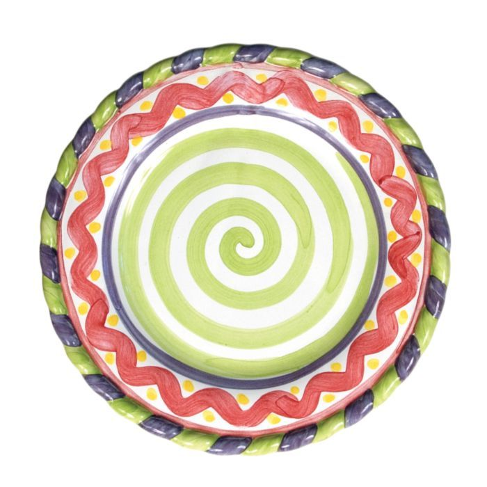 MacKenzie-Childs - Piccadilly Salad Plate