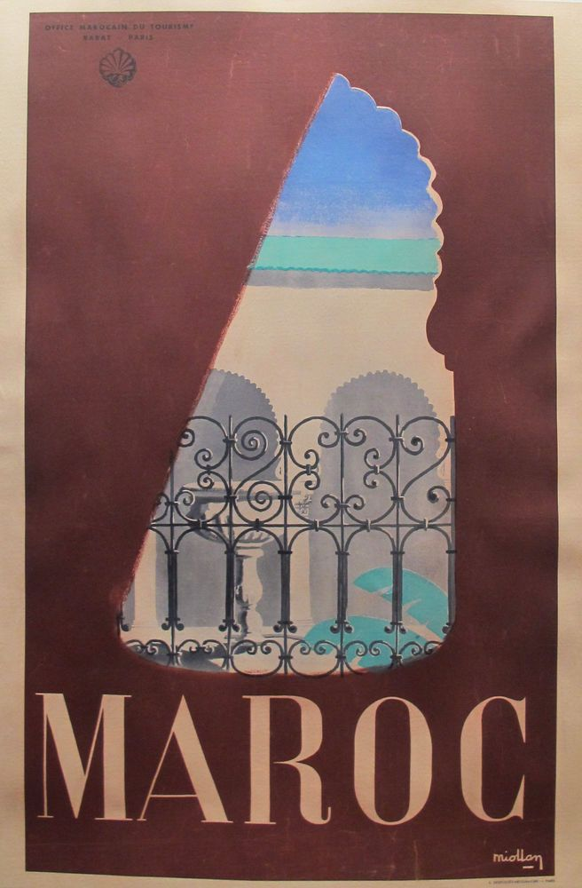 50 Best Moroccan Travel Posters Images On Pinterest
