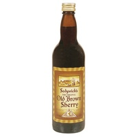 Old Brown Sherry - a definite must when the weather turns frosty!