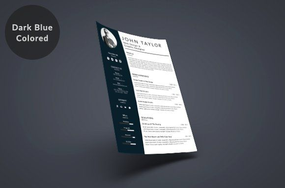 CLEAN RESUME Vol.2 by shakersign creative on @creativemarket