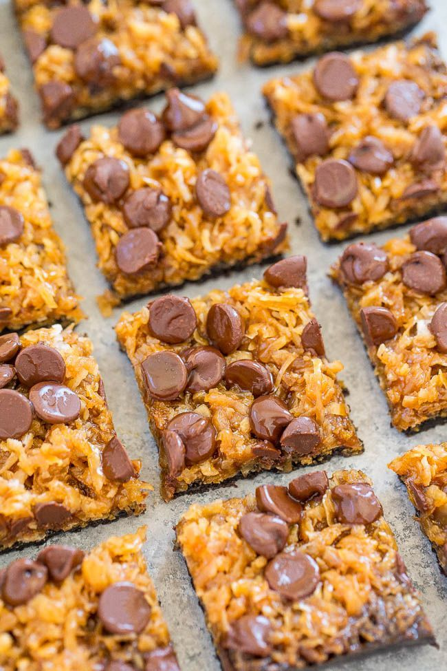 My two favorite Girl Scout Cookies are Samaos (Caramel deLites in some regions) and Thin Mints. I could eat them both by the box, in a sitting, and as a kid I did. Sure wish I still had that metabolism. I think you guys love Samoas too because this Samoas Cookie Pie video has been …