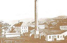 NEJSTARŠÍ FOTOGRAFIE Varnsdorfu z roku 1850 (Fröhlichova továrna)