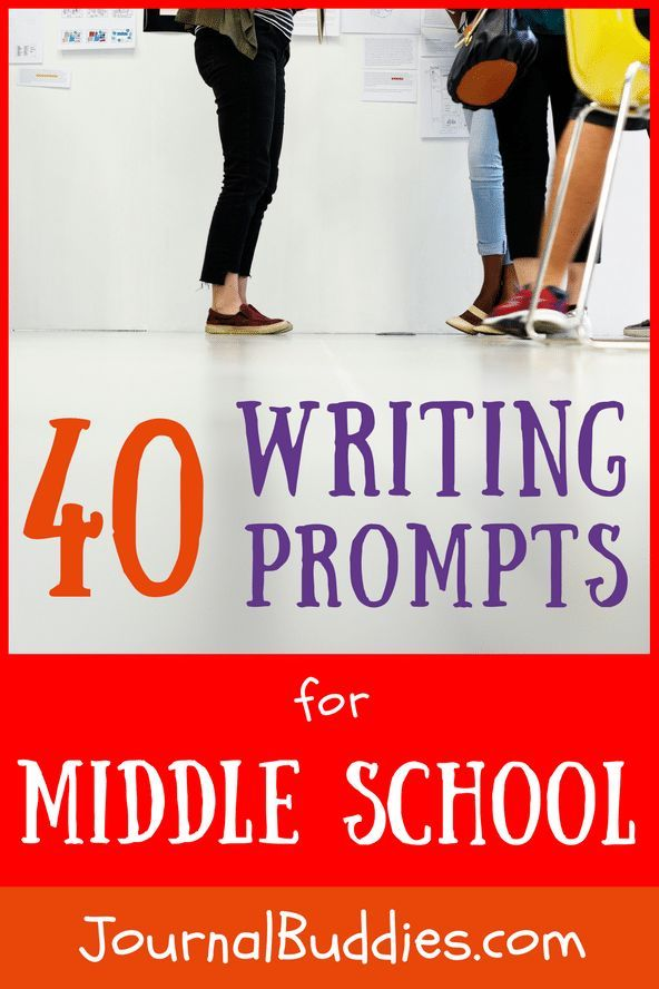 creative writing prompt middle school Writing prompts for middle school: 101 things to write about for middle school to supercharge their writing skills - writing prompts for students (kids journal writing) (volume 2.