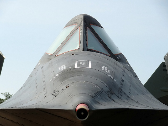 One of the greatest and legendary aircraft in military aviation, the SR-71 Blackbird.