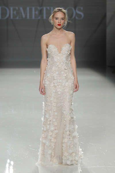 40 vestidos de novia para mujeres altas: diseños para brillar y