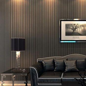 10 metro diseñador del brillo metálico característica textura delgada verticales rayas papel de pared de vinilo del pvc wallpaper rollo papel de parede