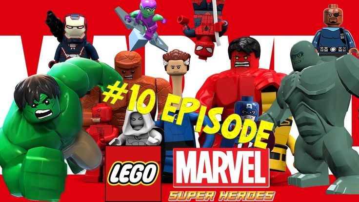 Lego Marvel 10 - S.H.I.E.L.D  Helicarrier - New York Part 2 - That Sinki...