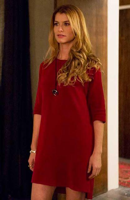 Vestido Vermelho da Diana (Aline Moraes)