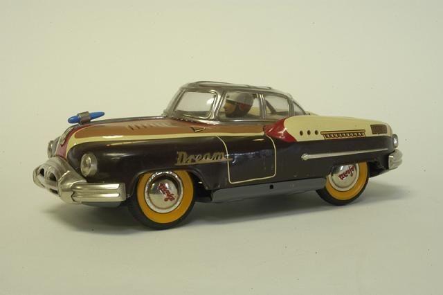 Old tin toy car.