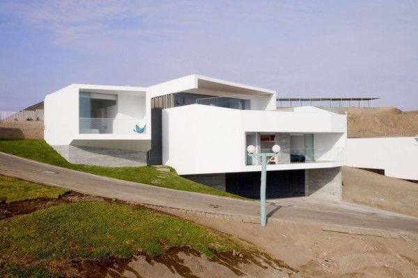 Modern Exterior Home Design from Contemporary House Design Ideas With View Of The Beach 600x400 Contemporary House Design Ideas With View Of The Beach